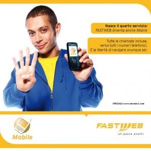 Valentino Rossi e Fastweb Mobile
