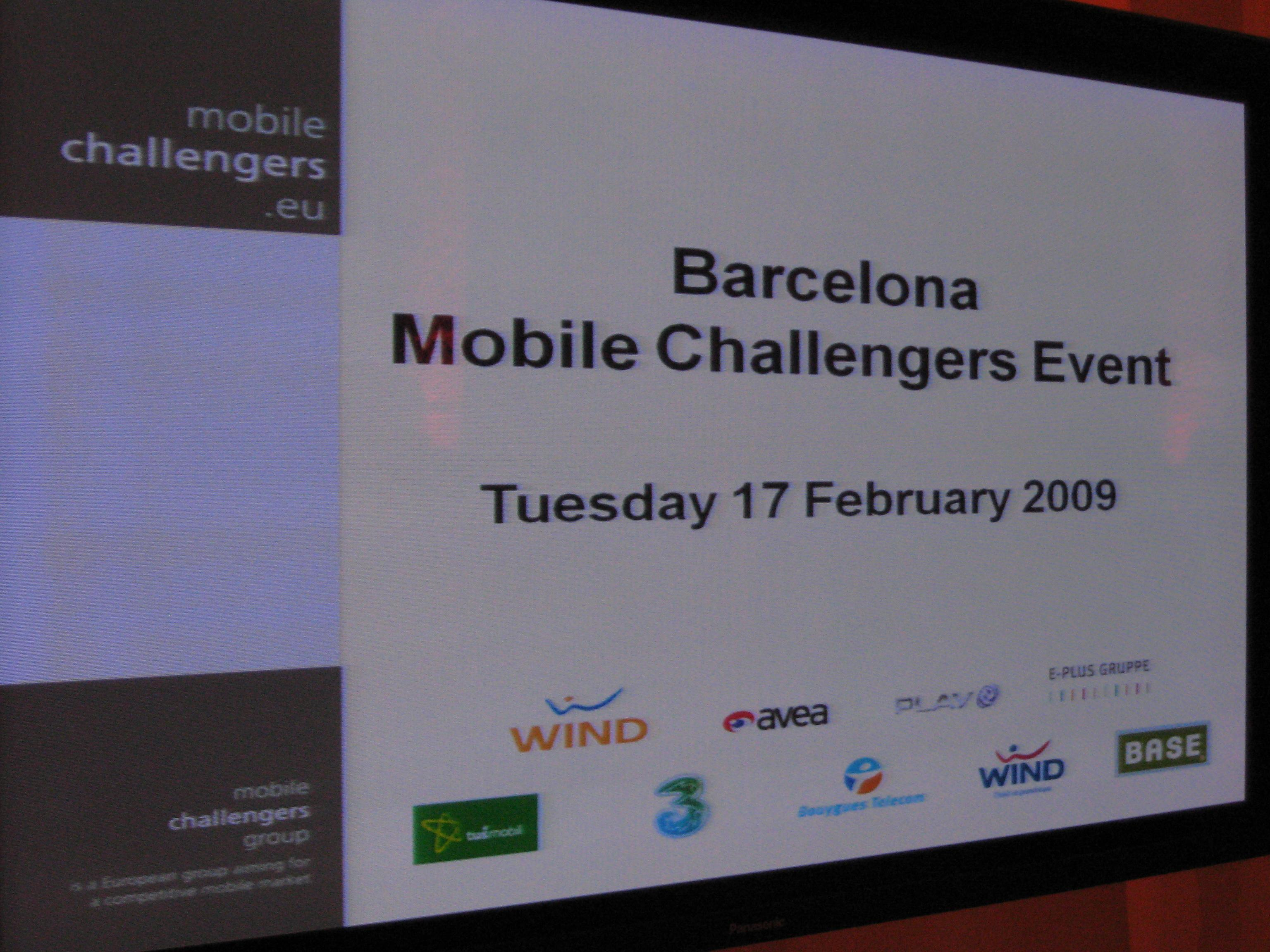 Mobile Challengers MWC 09