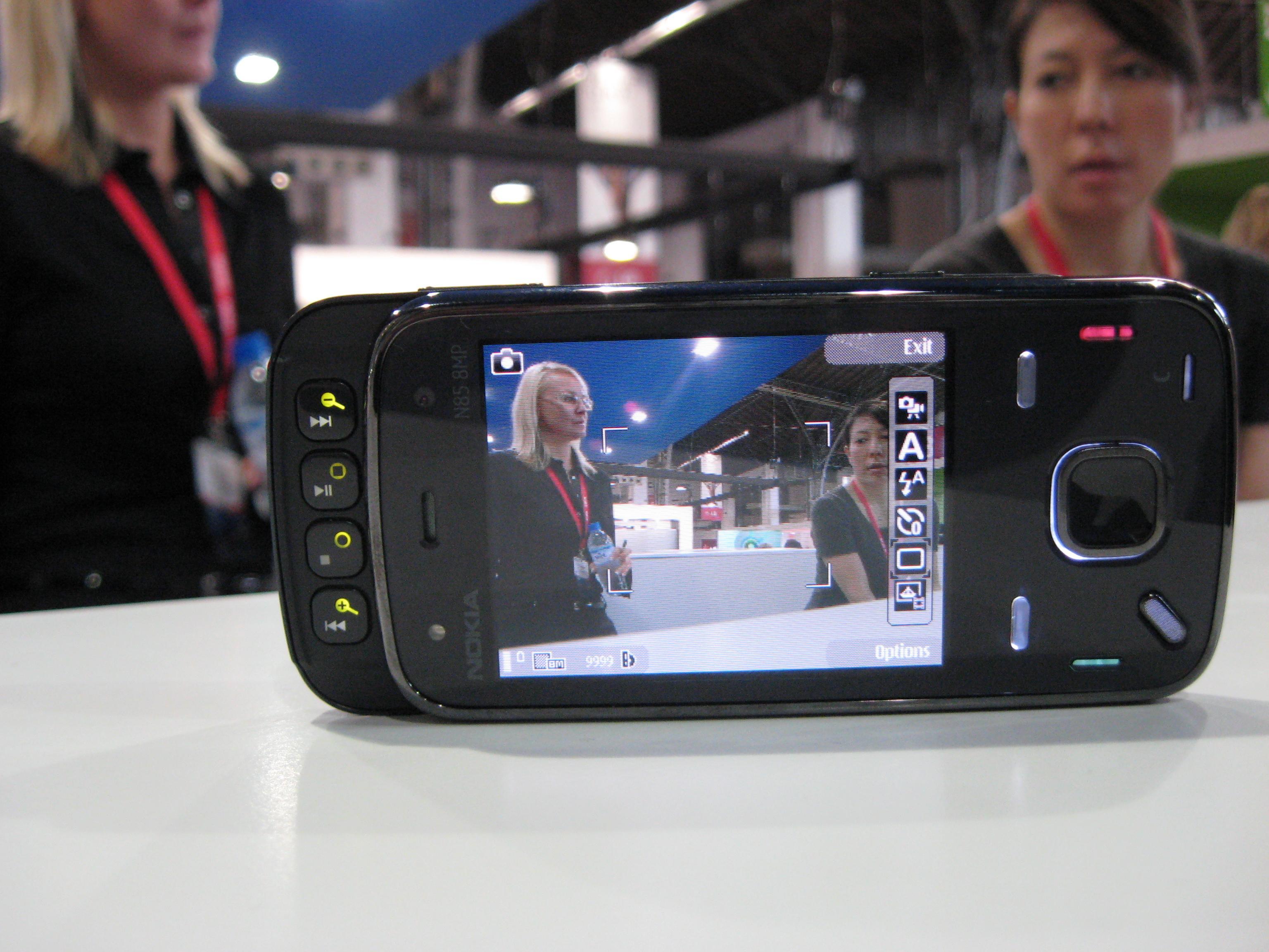 MWC 09: il prototipo del Nokia N86
