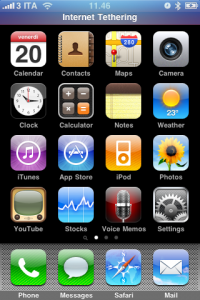 iPhone 3.0 beta 1