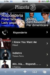 Pianeta3, il portale per iPhone di 3 Italia