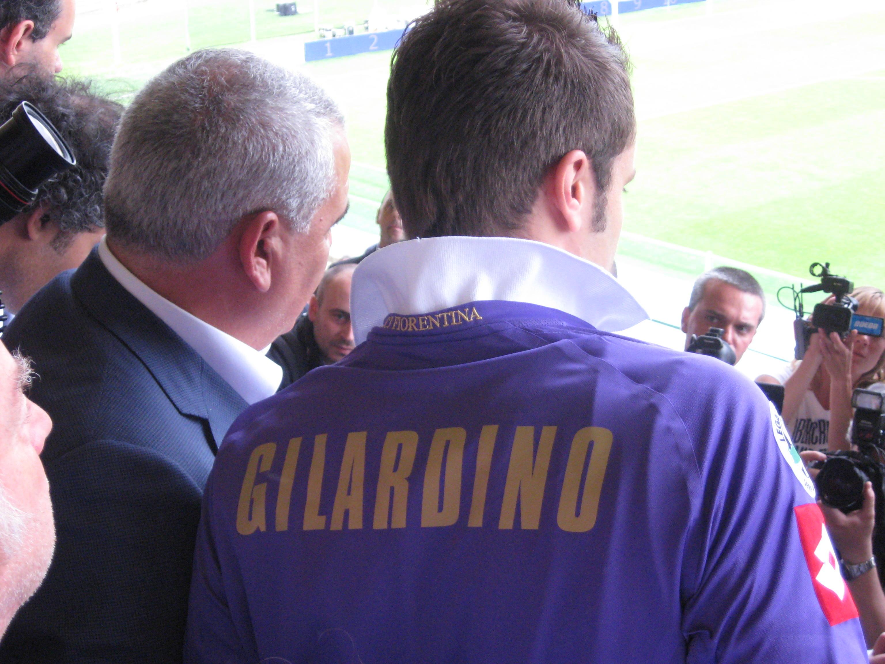 Gilardino, attaccante della Fiorentina