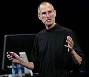 Steve Jobs presenta il firmware 3.1 per iPhone