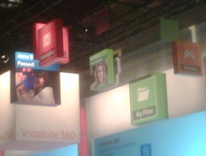 Vodafone 360 - via TwitPic