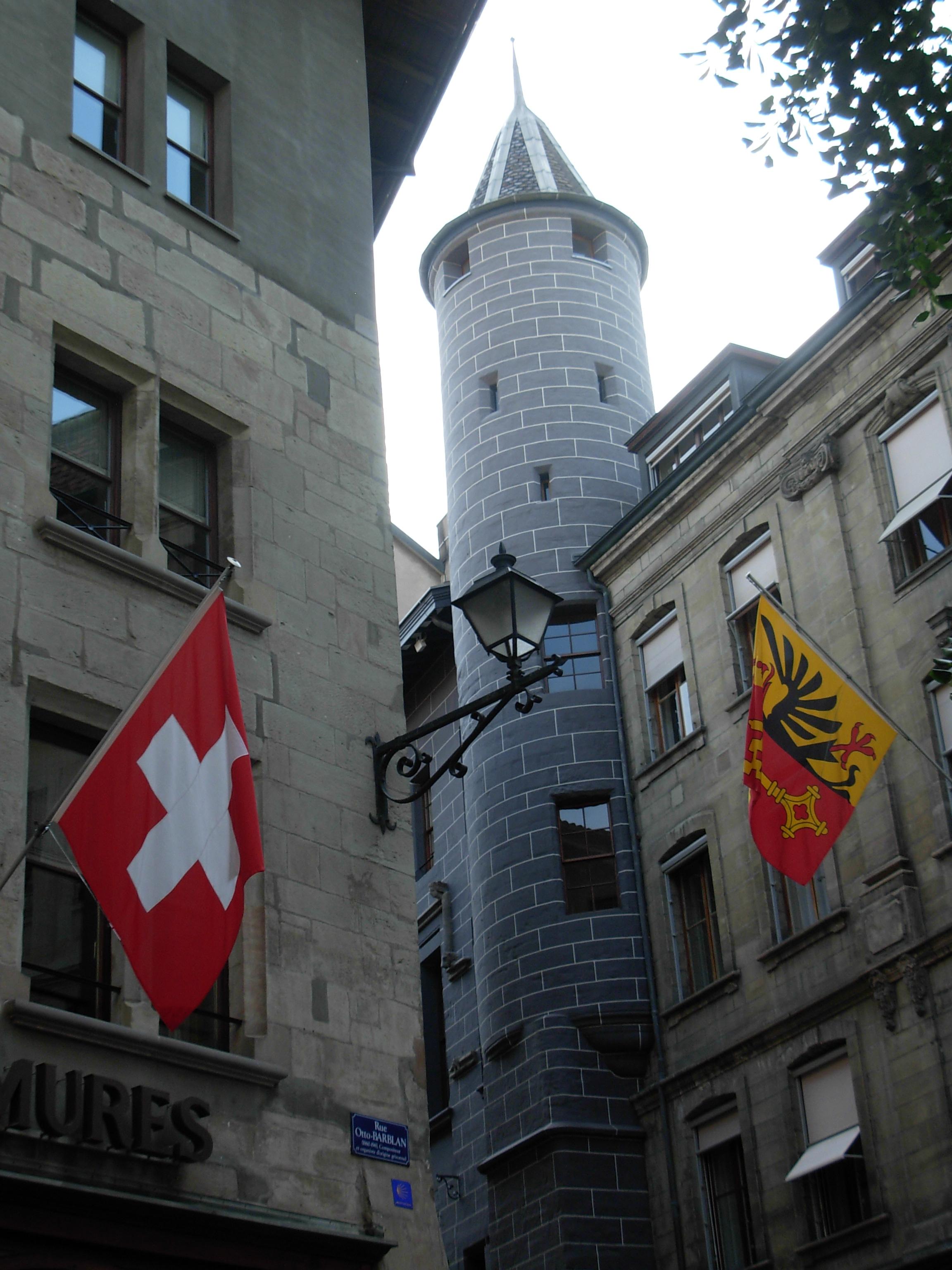 Svizzera, un'immagine di Ginevra