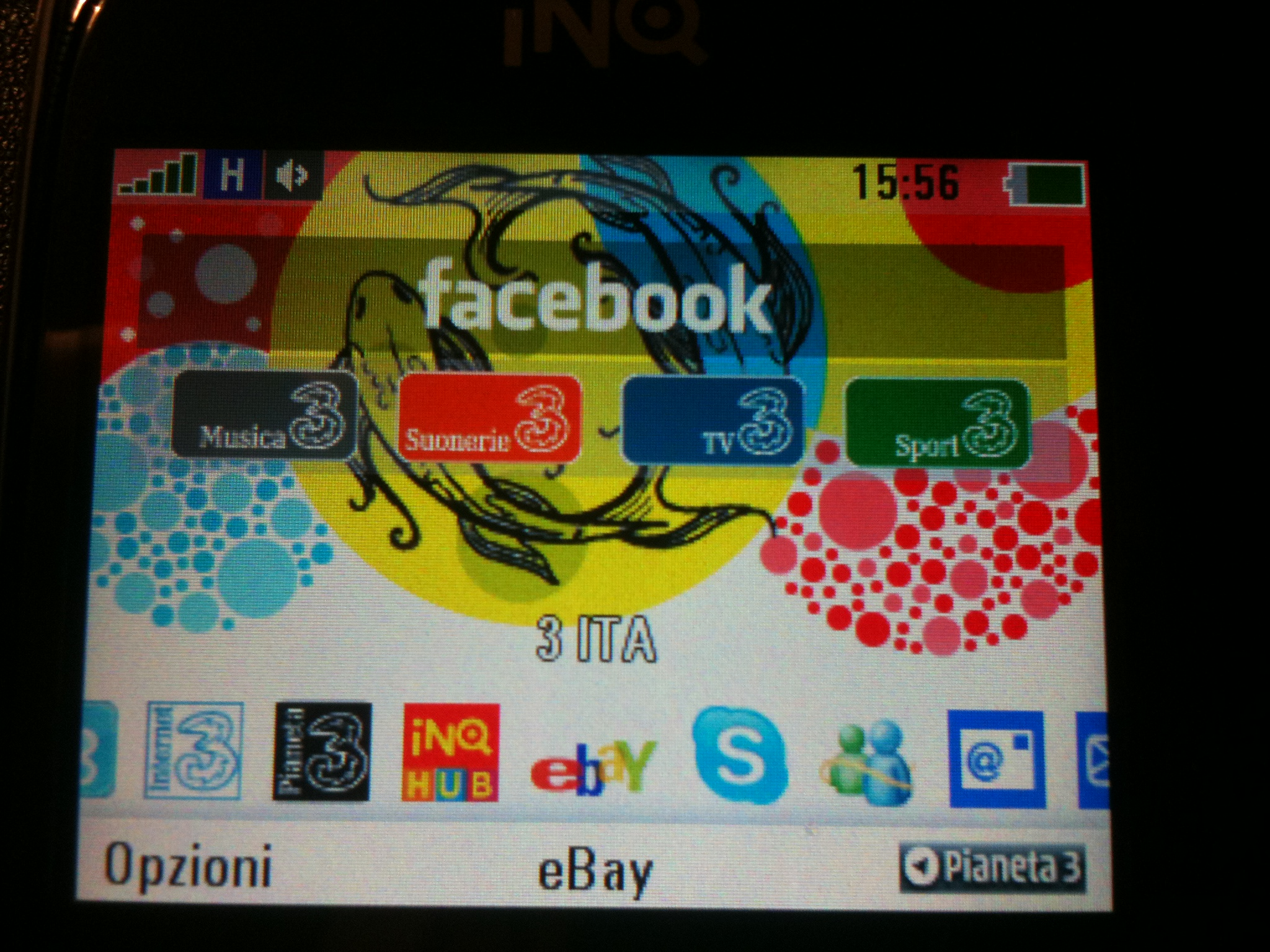 Display Inq Chat 3G