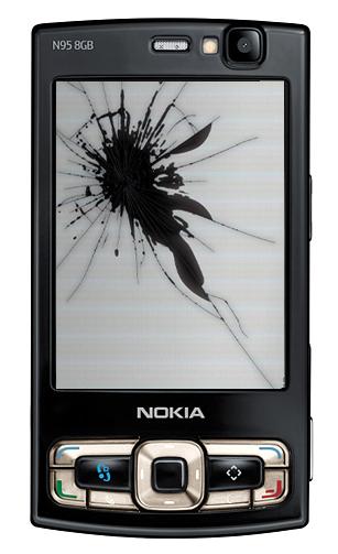 Nokia N95 rotto
