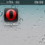 Opera Mini su iPhone
