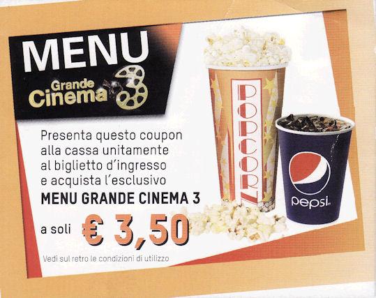 Coupon space cinema