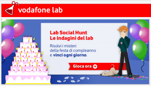 Vodafone Social Hunt Lab Galaxy Tab 10.1