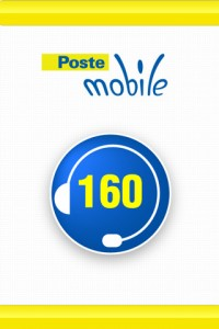 Poste Mobile 160 Call Center (Screenshot)