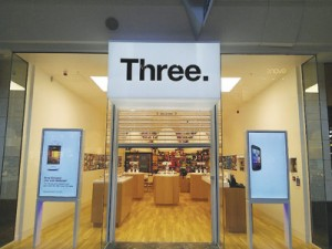 Three Trial Store (foto Mobile Today)