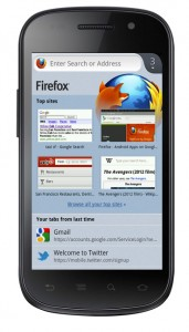 Firefox Beta per Android