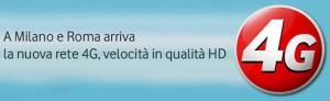 Milano e Roma: arriva Vodafone 4G (LTE)
