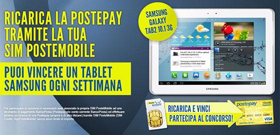 Ricarica la Postepay e Vinci con PosteMobile