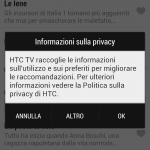 HTC one - Sense TV - configurazione