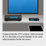 HTC one - Sense TV - telecomando