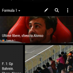 HTC one - HTC BlinkFeed - Formula1