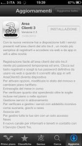 App clienti 3 versione 2.3