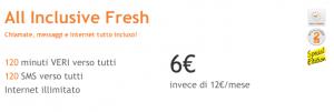 All Inclusive Fresh