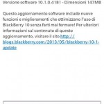 Blackberry 10.1 MR1 (Italia)