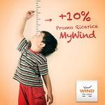 Wind 10 percento promo ricarica MyWind