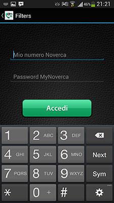 iNoverca (Noverca Plus) - Accesso (Login)
