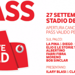Vodafone Live Red (Roma) - il pass