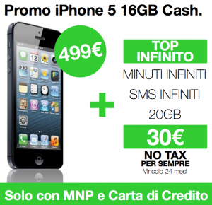 Promo iPhone 5