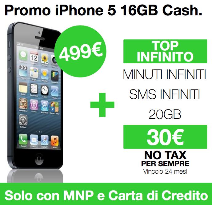 promozioni 3 iphone 5