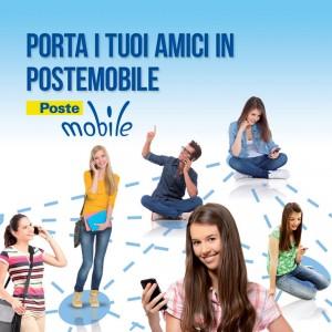 Porta i tuoi amici in PosteMobile