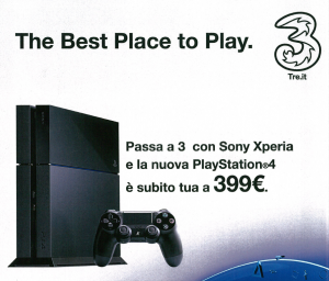 PS4 con Xperia e 3 Italia