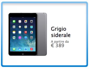 iPad Mini Retina Display (grigio siderale)