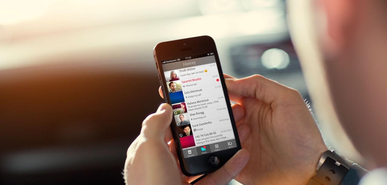App iO Swisscom