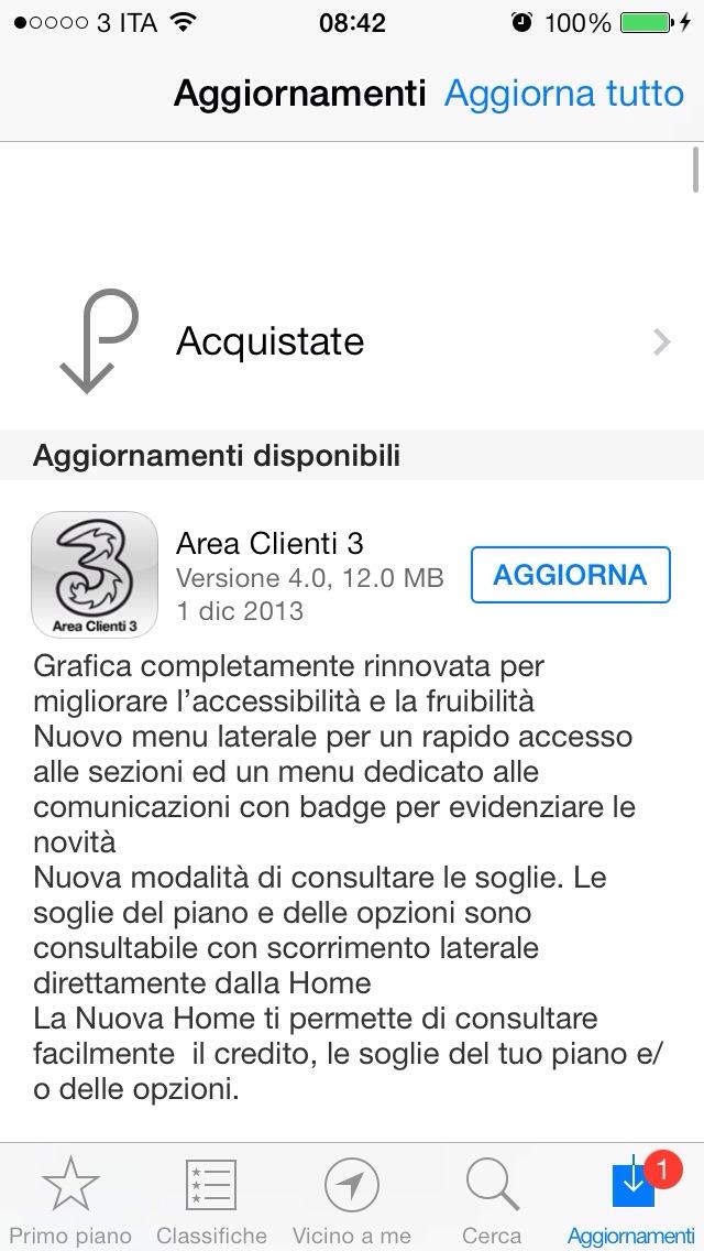App Store Area Clienti 3