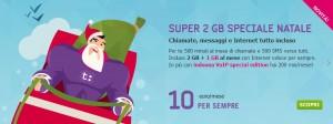 Tiscali Mobile Super 2GB Speciale Natale 2013