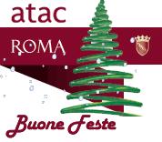 ATAC Roma - Buon Natale - ricarica online abbonamenti