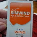 Wind SIMWIND Dual 4G per sostituzione