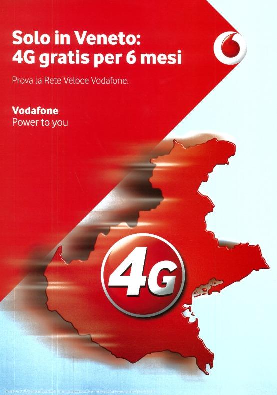 Vodafone Speciale Veneto: Extra 2GB 4G gratis (2014)