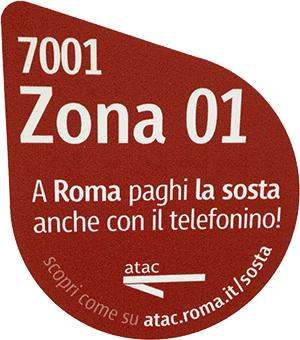 A Roma paghi la sosta anche con il telefonino (parcheggio SMS Roma Capitale)