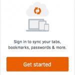 Firefox Sync (Firefox Aurora 29)