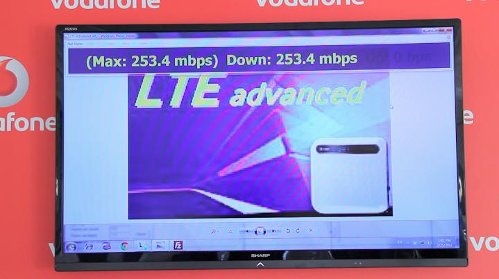 Vodafone LTE Advanced Napoli Febbraio 2014