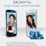 Samsung Galaxy S4 conviene due volte (promo sconto marzo 2014)
