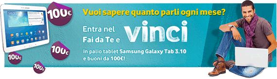 Entra nel Fai da Te e VINCI - Vodafone marzo 2014