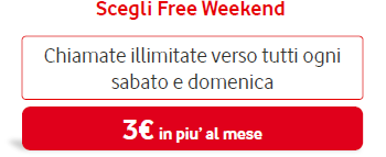 Scegli Tu Free Weekend (Vodafone)