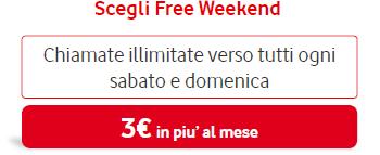 Scegli Tu Free Weekend (Vodafone)