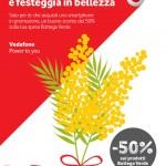 Vodafone per la Festa della Donna (8 marzo 2014): sconto Bottega Verde
