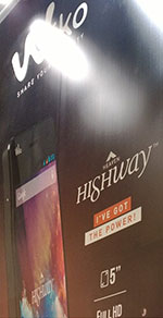 Wiko Highway (stand MWC 2014) by Mondo3