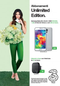 Samsung Galaxy S5 Unlimited Edition Aprile 2014