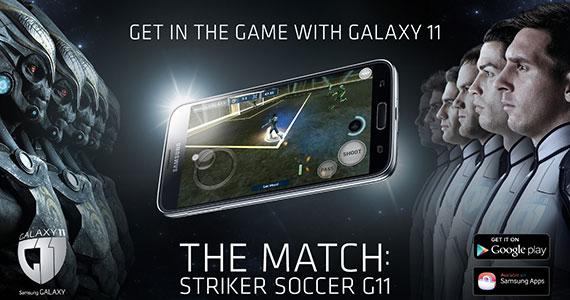 The Match: Striker Soccer Galaxy 11